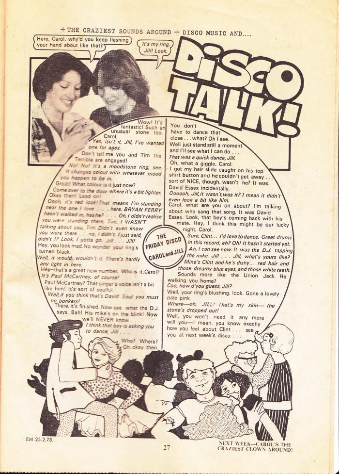disco talk