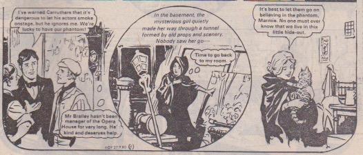 Little Phantom of the Opera | Girls Comics Of Yesterday
