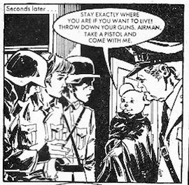 The White Mouse panel 1