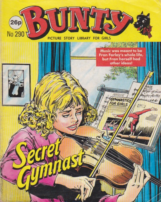 Secret Gymnast cover 1