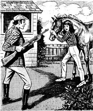 horse for hilda