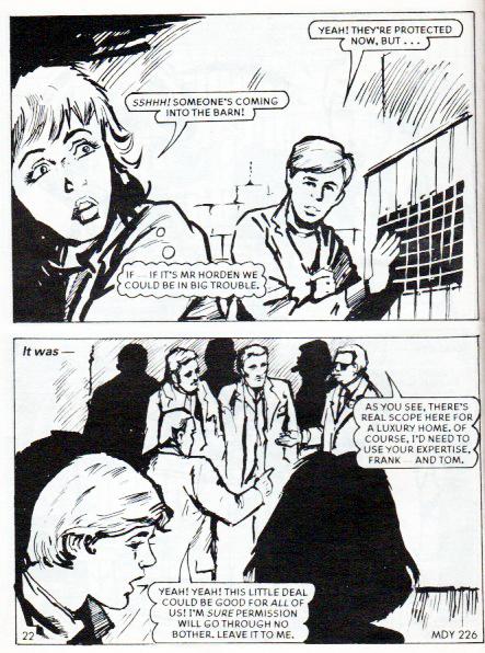 The Barn 1995 Girls Comics Of Yesterday